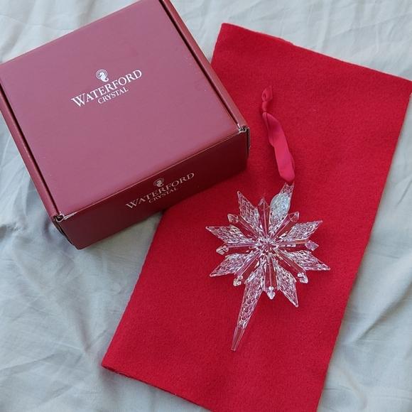 Waterford Snowstar Ornament